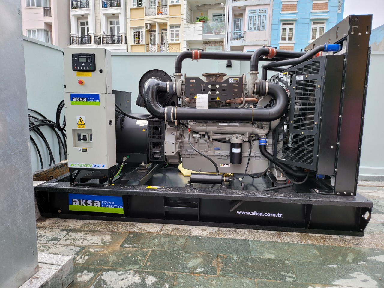 Generator for Bcons Tower II